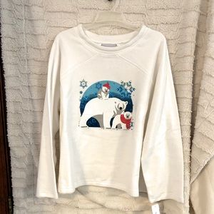 Sweatshirt/Sweater Winter Polar Bears